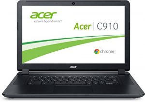 Acer Chomebook C910-C4QT 39,6 cm (15,6 Zoll) Notebook (Intel Celeron 3205U, 2 GB RAM, 16 GB SSD, Intel HD Graphics, Chrome) schwarz