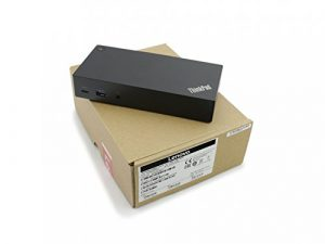 Port Replikator ThinkPad USB-C Dock 90W für Hewlett Packard Chromebook 13 G1 Serie
