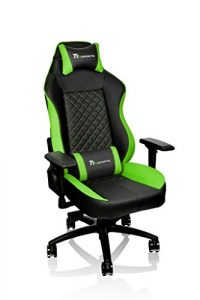 Tt eSPORTS GT-Comfort 500 Gaming Chair – GC-GTC-BGLFDL-01, green