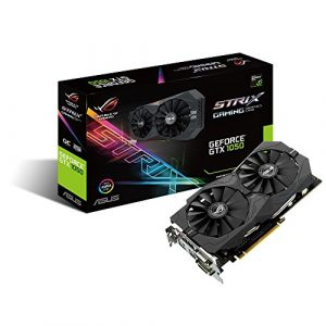 Asus ROG Strix-GTX1050-O2G Gaming Nvidia GeForce Grafikkarte (PCIe 3.0, 2GB DDR5 Speicher, HDMI, DVI, DisplayPort)