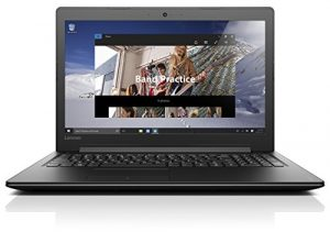 Lenovo IdeaPad 310 39,6 cm (15,6 Zoll Full HD TN) Notebook (Intel Core i5-7200U, 12GB RAM, 256GB SSD, DVD, Intel HD Grafik 620, Windows 10 Home) schwarz